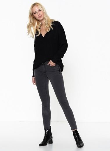 Vero Moda Jean Pantolon | Julia - Slim Gri